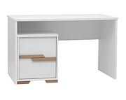 Pinio Snap biurko z kontenerkiem / białe. 15% taniej do 30 kwietnia.