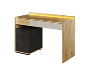 Lenart Qubic biurko z oświetleniem QB-08