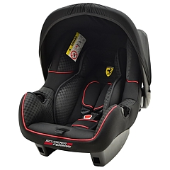 Fotelik Ferrari Beone SP 0-13kg z adapterem do wózka Bebetto 2016 Murano, Silvia, Torino, 42 For Two