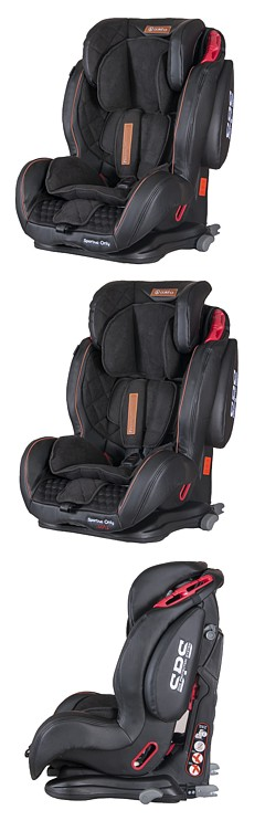 Fotelik Coletto Sportivo Only Isofix (9-36 kg) 2018