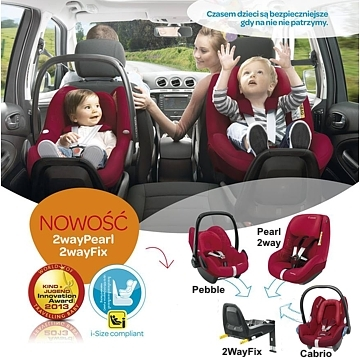 maxi cosi baza isofix 2wayfix do fot cabriofix pebble pebble plus i 2waypearl w sklepie stacjon. Black Bedroom Furniture Sets. Home Design Ideas