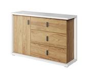 Lenart Massi komoda 3 szuflady 1 drzwi MS-05