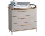 Paidi Benne komoda 3 szuflady + przewijak lite drewno KURIER GRATIS