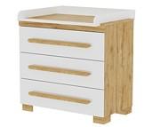 Pinio Oakie komoda 3 szuflady z przewijakiem. 15% taniej do 30 kwietnia.