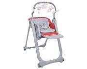 WYPRZEDAŻ Krzesełko Chicco Polly Magic Relax 2019 kolor scarlet KURIER GRATIS