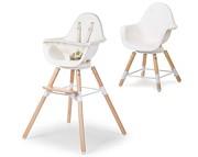 Childhome Evolu 2 One.80 krzesełko 2021 Natural White