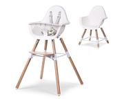 Childhome Evolu 2 krzesełko 2020 Natural White