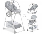 Hauck Sit n Relax 3w1 krzesełko do karmienia + bujak 2020