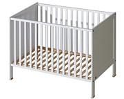 ATB Basic łóżeczko 120x60 kolor biały