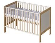 ATB Basic łóżeczko 120x60 kolor brzoza
