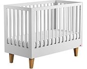 Baby Vox Lounge łóżeczko 120x60 cm / kolor biały