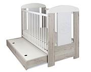 Drewex Miś Cortona COMFORT łóżeczko 120x60cm z szufladą i funkcją tapczanika.