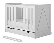 Pinio Marie łóżeczko z szufladą 120x60cm. Do 15% taniej w kwietniu.