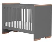 Pinio Snap łóżeczko 120x60cm szare. 15% taniej do 30 kwietnia.
