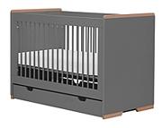 Pinio Snap łóżeczko z szufladą 120x60cm szare. 15% taniej do 30 kwietnia.