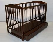 Tomi V Łóżeczko niemowlęce 120x60 z szufladą / KURIER GRATIS PRZY PRZEDPŁACIE