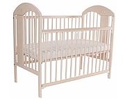 Tomi XIII Łóżeczko niemowlęce 120x60 opuszczany bok / kolor Transparentny Biały / KURIER GRATIS PRZY PRZEDPŁACIE
