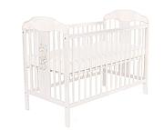 Tomi XIV Łóżeczko niemowlęce 120x60 opuszczany bok / kolor biały / KURIER GRATIS PRZY PRZEDPŁACIE