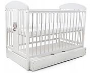 Tomi XIX Łóżeczko niemowlęce 120x60 z szufladą / KURIER GRATIS PRZY PRZEDPŁACIE