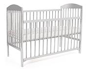 WYPRZEDAŻ Tomi XV Łóżeczko niemowlęce 120x60 z opuszczanym bokiem kolor biały/ WYSYŁKA 24H