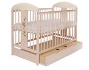 Tomi XVIII Łóżeczko niemowlęce 120x60 z szufladą / KURIER GRATIS PRZY PRZEDPŁACIE