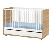 Baby Vox Evolve łóżeczko 140x70 z szufladą / Kurier gratis przy przedpłacie