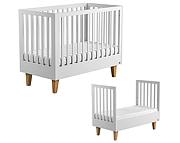 Baby Vox Lounge łóżeczko tapczanik 140x70 cm / kolor biały