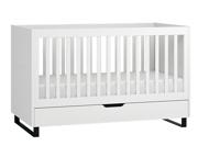 Baby Vox Simple łóżeczko 140x70 z szufladą z litego drewna