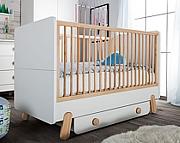 Pinio Iga łóżeczko/tapczanik 140x70 z szufladą. 15% taniej do 30 kwietnia.