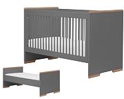 Pinio Snap łóżeczko 140x70cm szare. 15% taniej do 30 kwietnia.