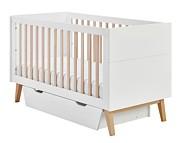 Pinio Swing łóżeczko 140x70 cm z szufladą. 15% taniej do 30 kwietnia.