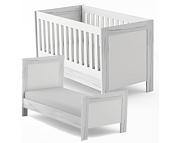 Timoore Manhattan łóżeczko-tapczanik 140x70 / kolor biały