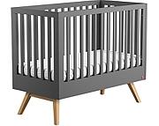 Baby Vox Mitra łóżeczko 120x60 cm / kolor grafit