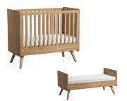 Baby Vox Vintage łóżeczko tapczanik 140x70 cm lite drewno / Kurier gratis przy przedpłacie