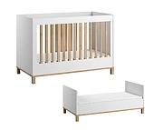Baby Vox Altitude łóżeczko 140x70cm / kolor biały