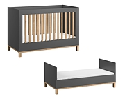 Baby Vox Altitude łóżeczko 140x70cm / kolor grafit