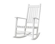 Bellamy Cosy fotel bujany / kolor biały / Kurier gratis przy przedpłacie