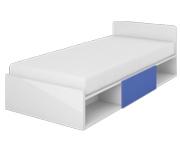 LENART Yeti - Y-16 łóżko młodzieżowe 200x90 z materacem