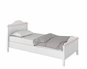 Lenart Luna łóżko 200x90 z materacem bonelowym LN-08