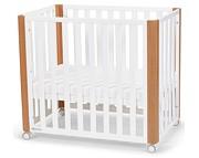Kinderkraft KOYA 90-120x60 łóżeczko kojec dostawka 4w1 z materacem