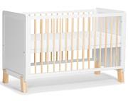 Kinderkraft Nico łóżeczko/tapczanik 120x60 z barierką kolor white