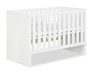 LittleSky by Klupś Amelia  łóżeczko-sofa 120x60cm kolor biały.