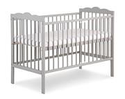 Klupś Oliver łóżeczko 120x60cm / szare. Do 15% taniej w styczniu.
