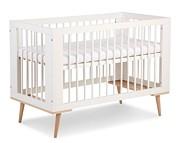 LittleSky by Klupś Sofie białe łóżeczko 120x60cm.