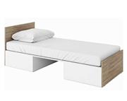 LENART Tecto łóżko 200x90 z materacem