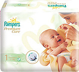 Pampers Premium Care 1 Newborn 2 - 5kg (78)