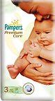 Pampers Premium Care 3 Midi 4 - 7 kg (60)