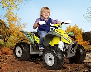 Peg Perego POLARIS OUTLAW CITRUS quad -  akumulator 12V