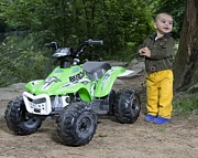 Peg Perego CORRAL BEARCAT GREEN quad motor off-roadna akumulator 6V