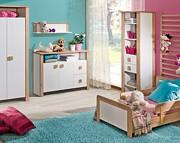 ATB Marsylia pokój dziecięcy ( łóżeczko 140x70 + komoda z przewijakiem + szafa ) Kurier gratis przy przedpłacie
